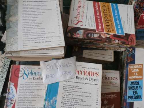 Revistas selecciones años 1970-1979