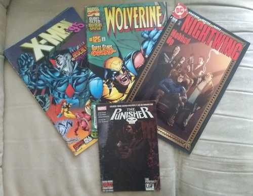 Comics en físico (combo variado)