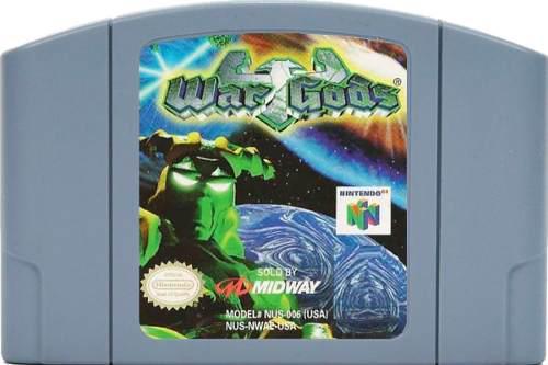 Juego original war gods para consola nintendo 64