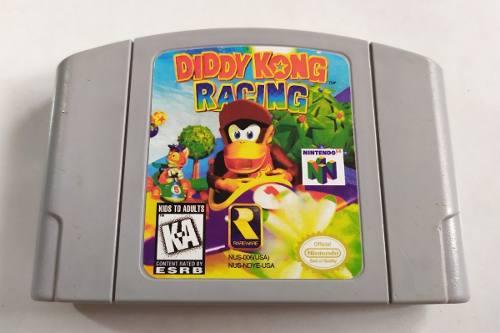 Juegos de nintendo 64 diddy kong racing n64 buen estado