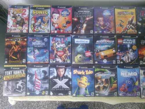 Juegos originales de nintendo gamecube solo venta