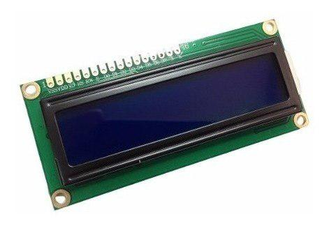 Lcd 16x2 azul + pic 16f76+ 20 cables arduino