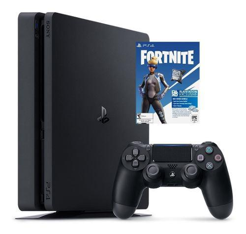 Playstation 4 slim 1tb nuevo + ps4 exclusivo fortnite 320