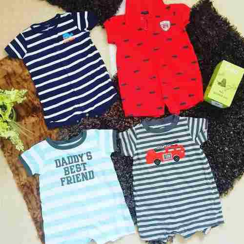Combo bodies 6 meses carter ropa bebé