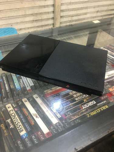 Playstation 2 modelo slim chip juegos 2 controles garantia