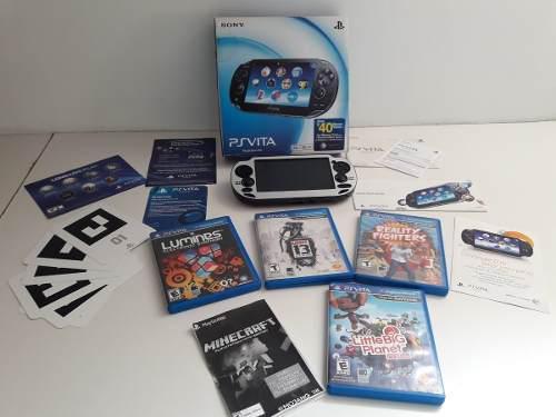 Sony psvita (playstation vita) consola portátil