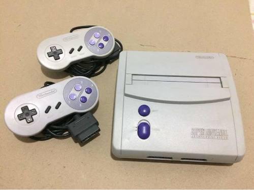 Súper Nintendo Juegos Y Controles (70vrds)