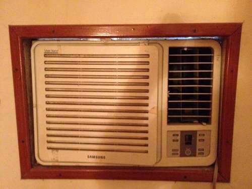 Aire acondicionado de ventana samsung 18000btu, 220v
