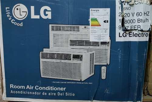 Aire acondicionado lg. 18 btu. ventana.