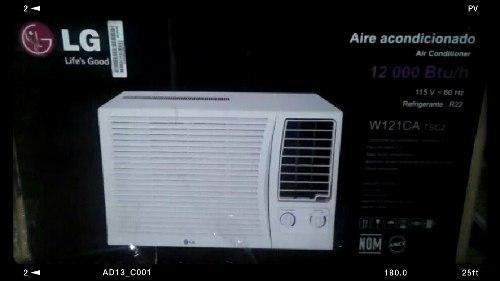Aire acondicionado lg nuevo ventana