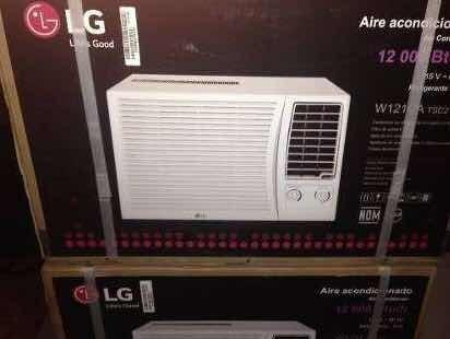 Aire acondicionado ventana 12000btu lg. ofertaaa!!