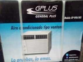 Aire acondicionado ventana 6000 btu gplus