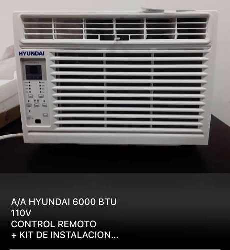 Aire de ventana hyundai 6000btu cn kit de instalacion