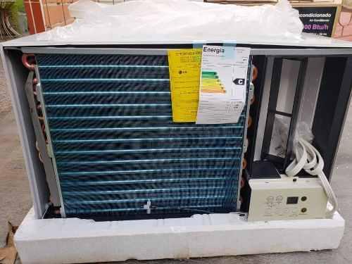 Aire de ventana lg de 18.000 btu pagué al recibir