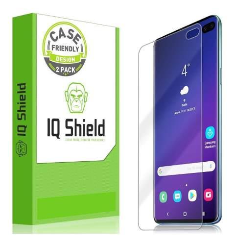 Protector de pantalla para samsung galaxy s10plus iq shield