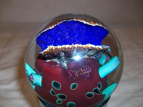 Adorno esfera venta remate feng shui bola art glass original