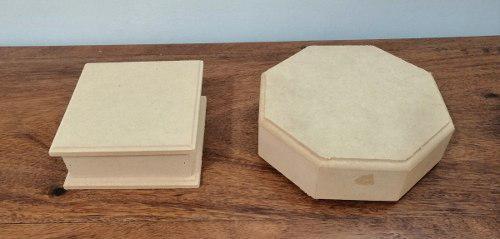Cajas madera mdf diferentes tamaños y medidas