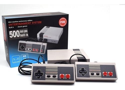 Consola tipo nintendo con 500 juegos tienda física