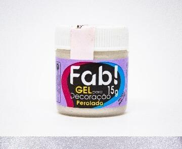 Gel colorante comestible para decoración perlado 15g