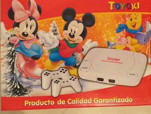 Nintengo consola juegos incorporados + 2 controles.