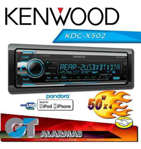 Radio reproductor kenwood kdc-x502