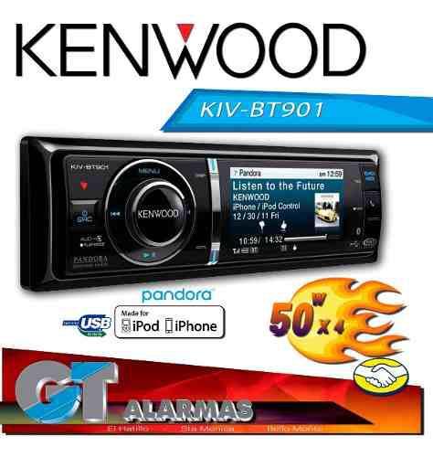 Radio reproductor multiedia kenwood kivbt901