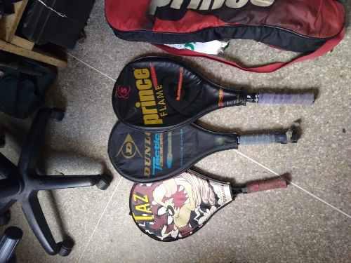 Raquetas de tenis dunlop, prince, forro
