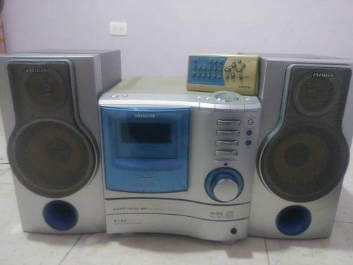 Aiwa Mini-componente Cd Y Radio