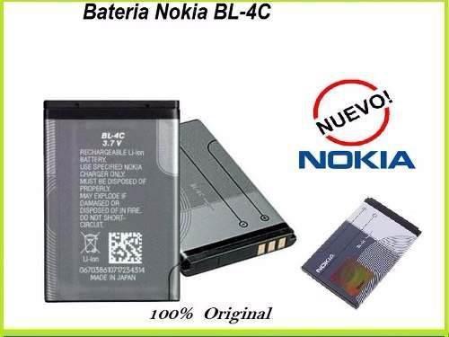 Bateria nokia pila bl-4c original bl4c 1200 1662 2652 6102