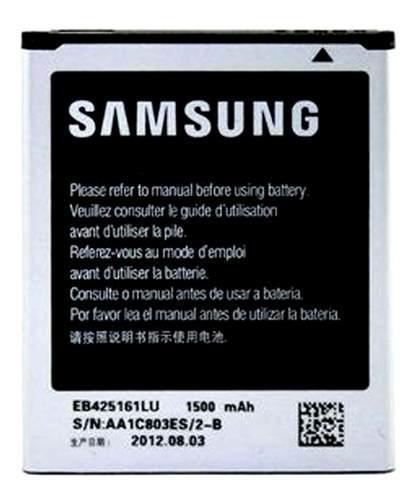 Bateria samsung galaxy s3 mini i8190 i8160 s5762 sabana g