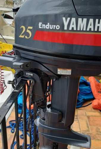 Motor yamaha fuera de borda 25 hp impecable como nuevo.