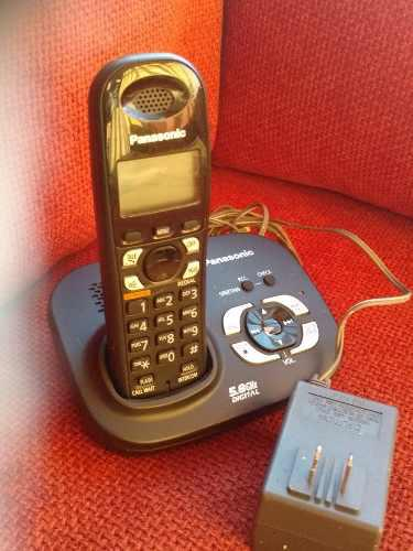 Telefono Inalambrico Panasonic 5,8 Ghz