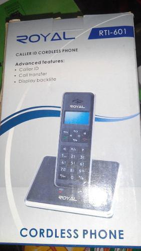 Telefono inalambrico royal rti-601