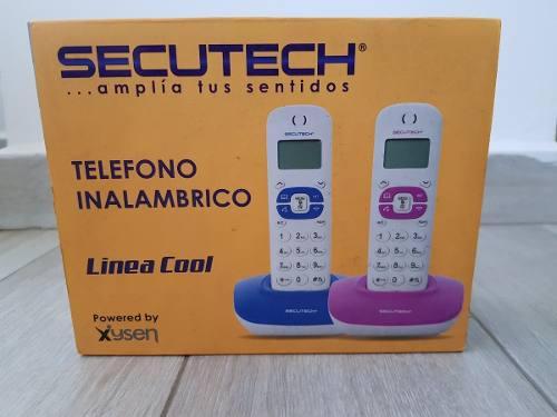 Telefono Inalambrico Secutech Linea Cool