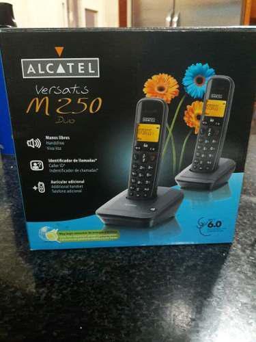 Telefono Inalámbrico Alcatel Versatis M250.