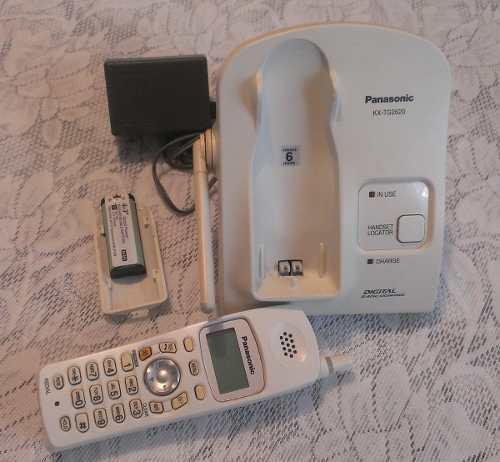 Telefono Inhalambrico Panasonic Para Repuesto Impecable