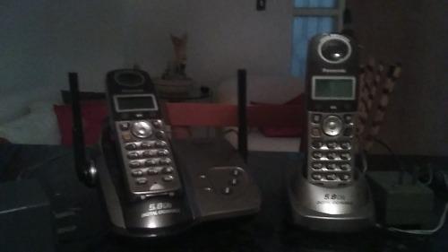 Teléfono duo panasonic inalámbrico