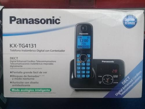 Teléfono inalámbrico panasonic kx-tg4131