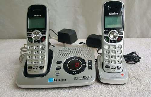 Teléfonos Inalámbricos Uniden 1580-2 Dect 6.0