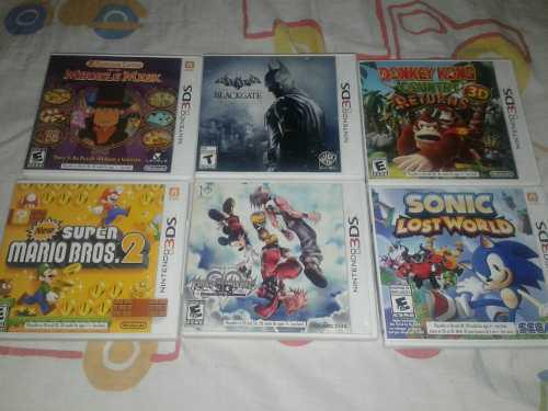 Juegos originales de nintendo 3ds
