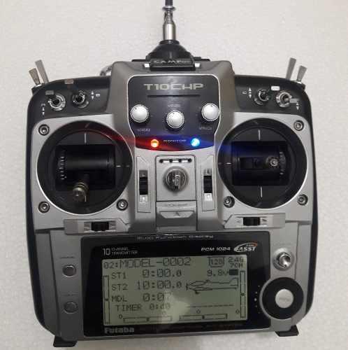 Usado, RADIO CONTROL FUTABA T10CHP segunda mano  Libertador-Aragua (Aragua)