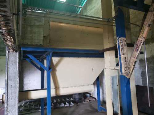 Mezclador industrial de alimento balanceado para animales