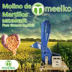 Molinos de martillo meelko mkhm420c