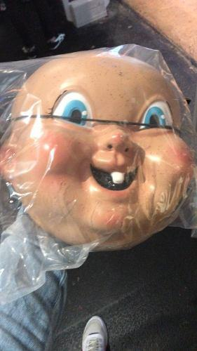 Máscara de películas feliz día de tu muerte