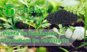 Planta de producción granulante de fertilizante meelko