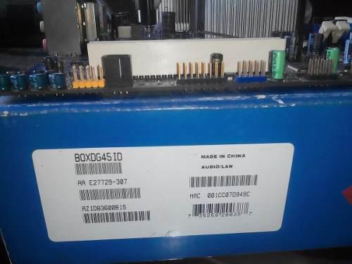 Tarjeta madre intel dg45id+procesador intel q9300+disipador