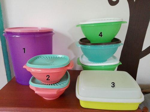 Productos tazas vasos jarras tupperware