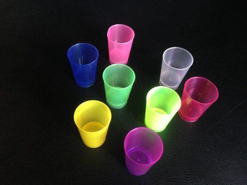 Vaso mini shot plastico 1.5oz por bulto