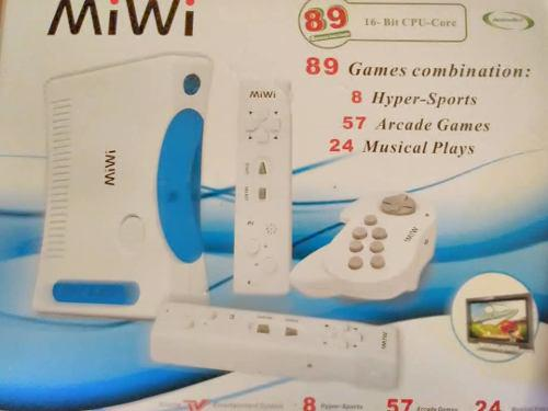 Consola miwi 89 juegos