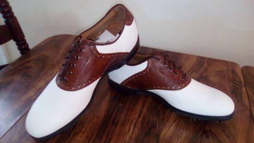 Footjoy icon black golf shoes totalmente nuevos